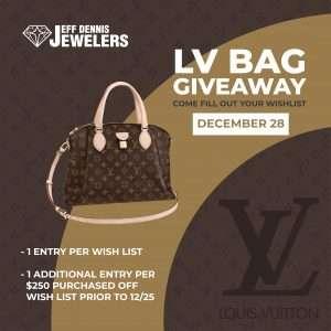 LV Bag Giveaway