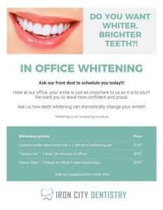 Teeth Whitening Hand-Out